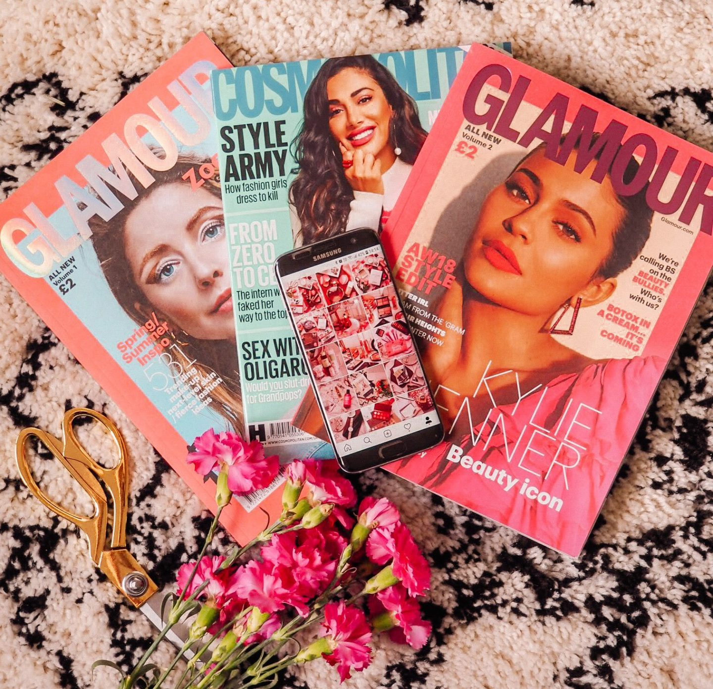 A pile of magazines for the post does the beauty industry promote low self esteem?