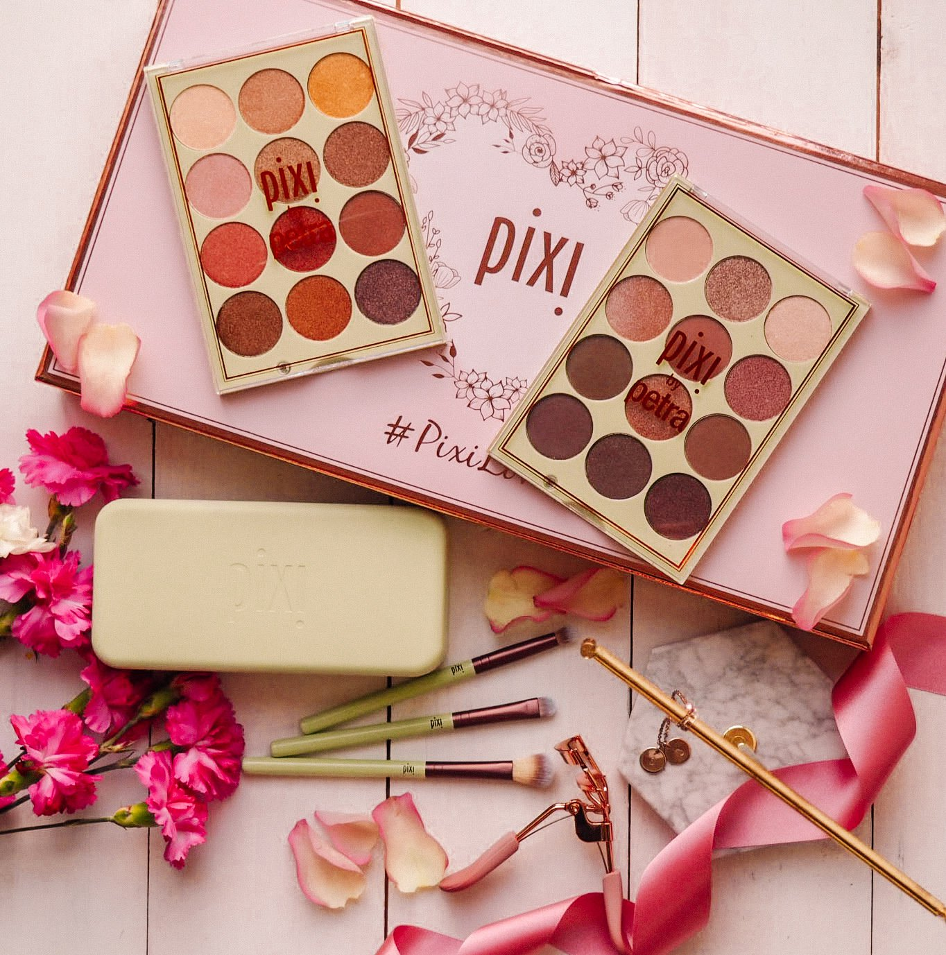 Pixi Eye Reflection Shadow Palettes Review