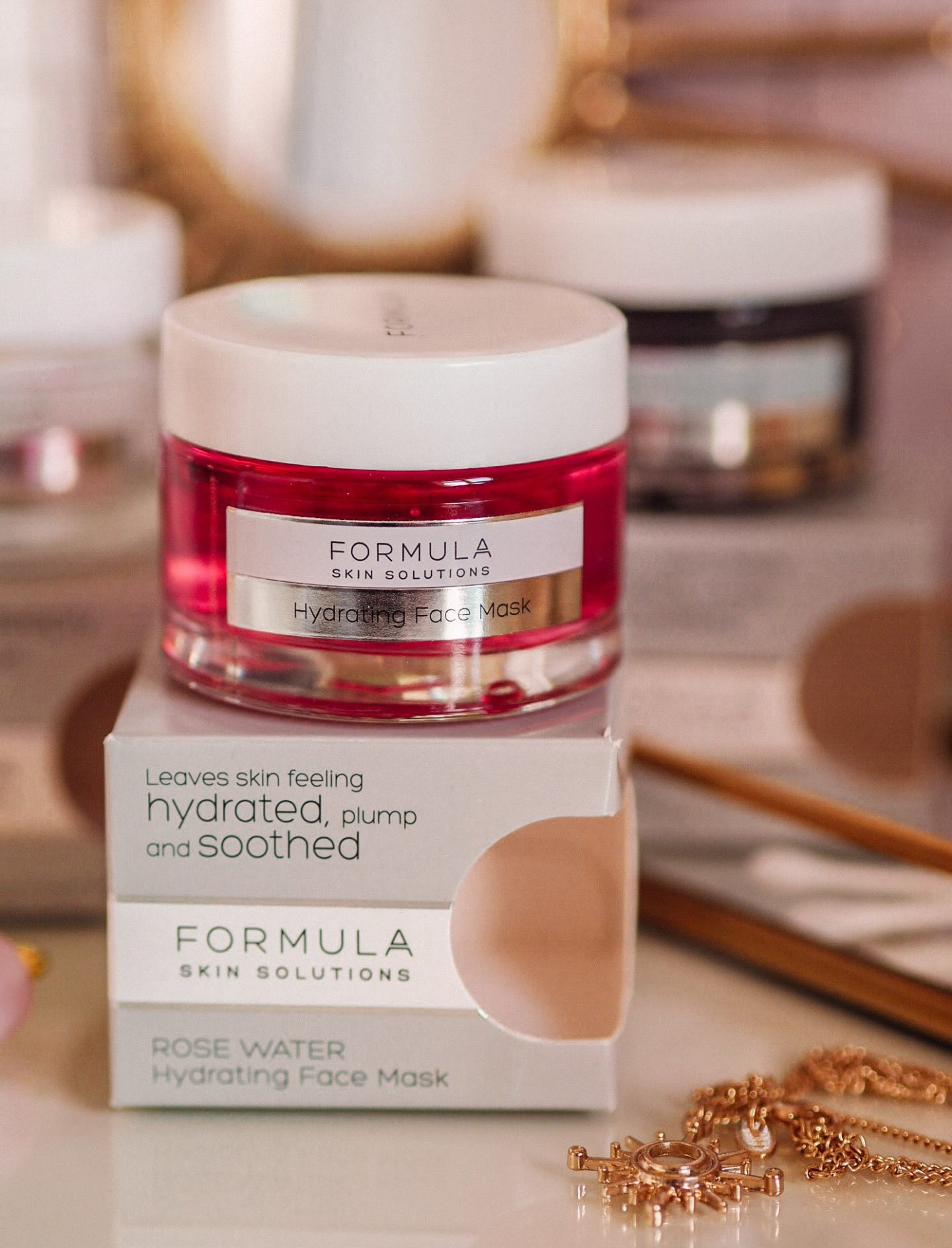 Marks and Spencer Formula Skin Solutions Rose Water Mask