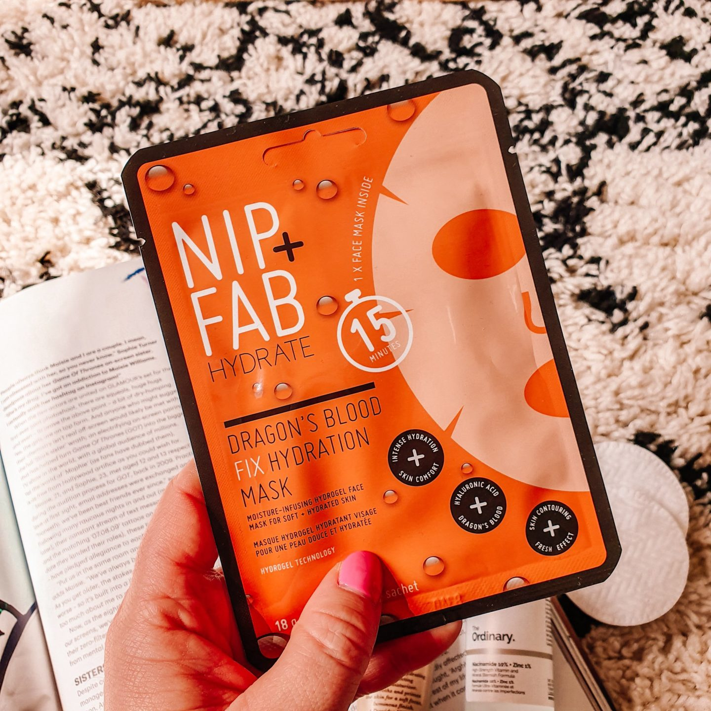 Nip + Fab Dragon's Blood Fix Hydration Mask