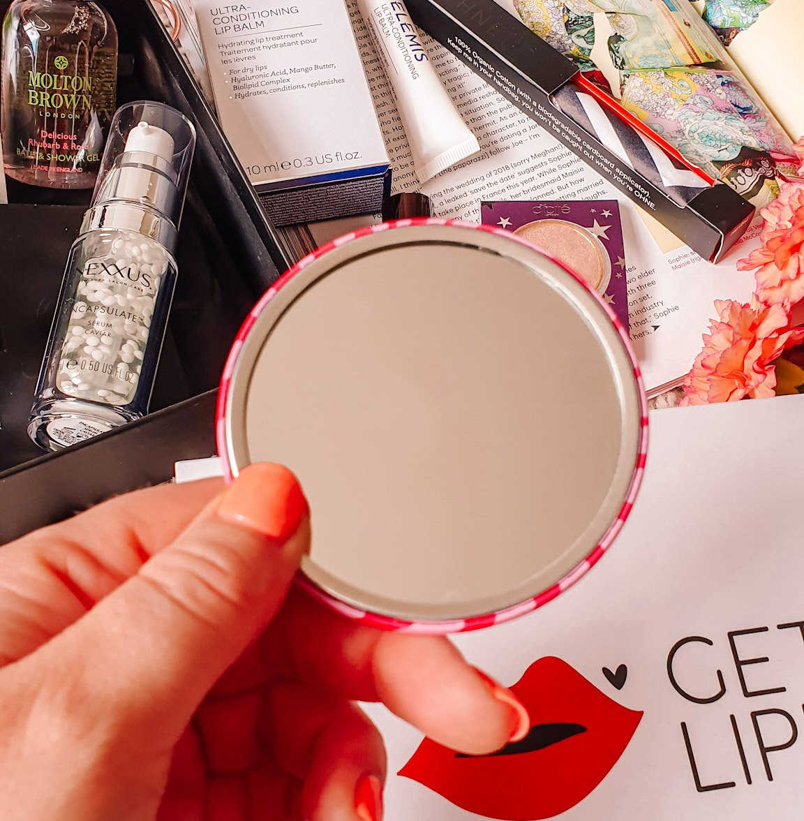 TOTM 'Be Kinder To Your Vagina' Compact Mirror