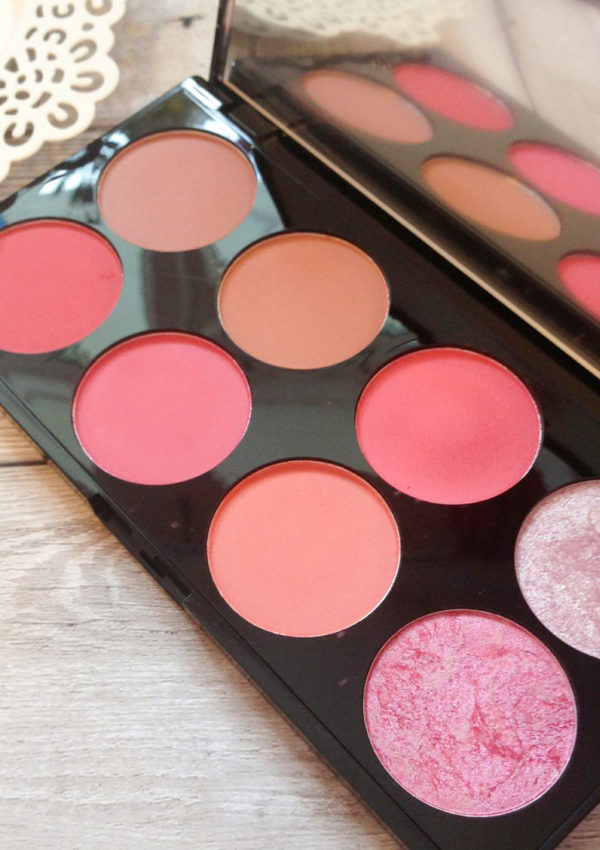 Makeup Revolution Sugar and Spice Blush Palette review and swatches
