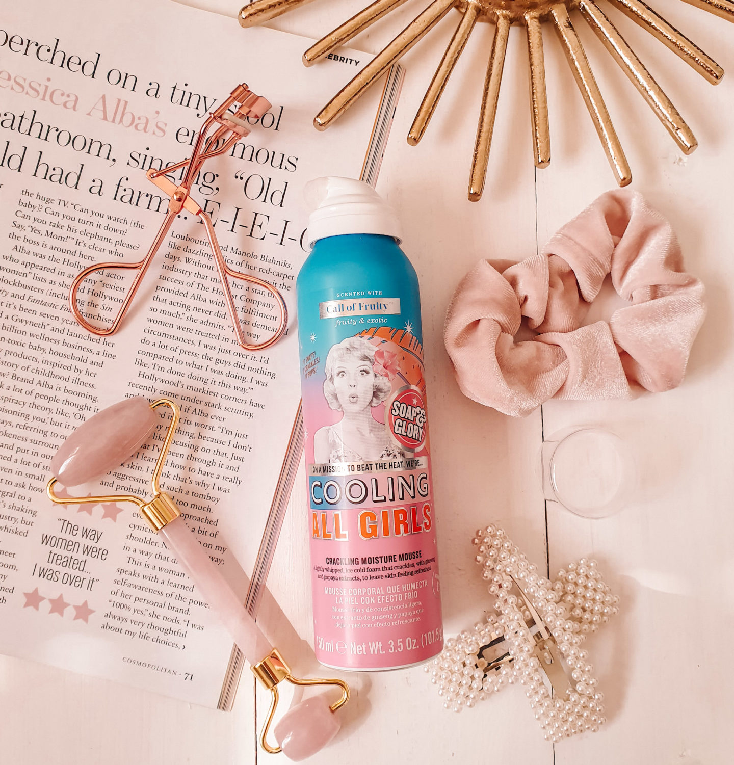 Soap and Glory Cooling All Girls Crackling Moisture Mousse