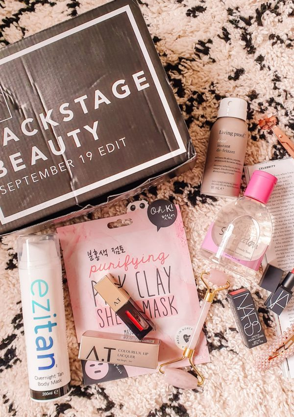 Latest in Beauty Backstage Beauty September 19 Box Review