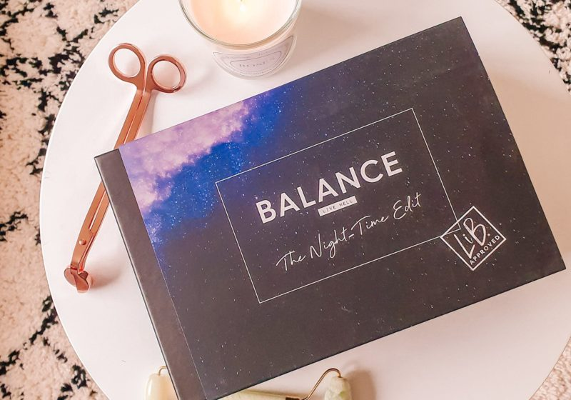 Latest in Beauty Balance The Night Time Edit