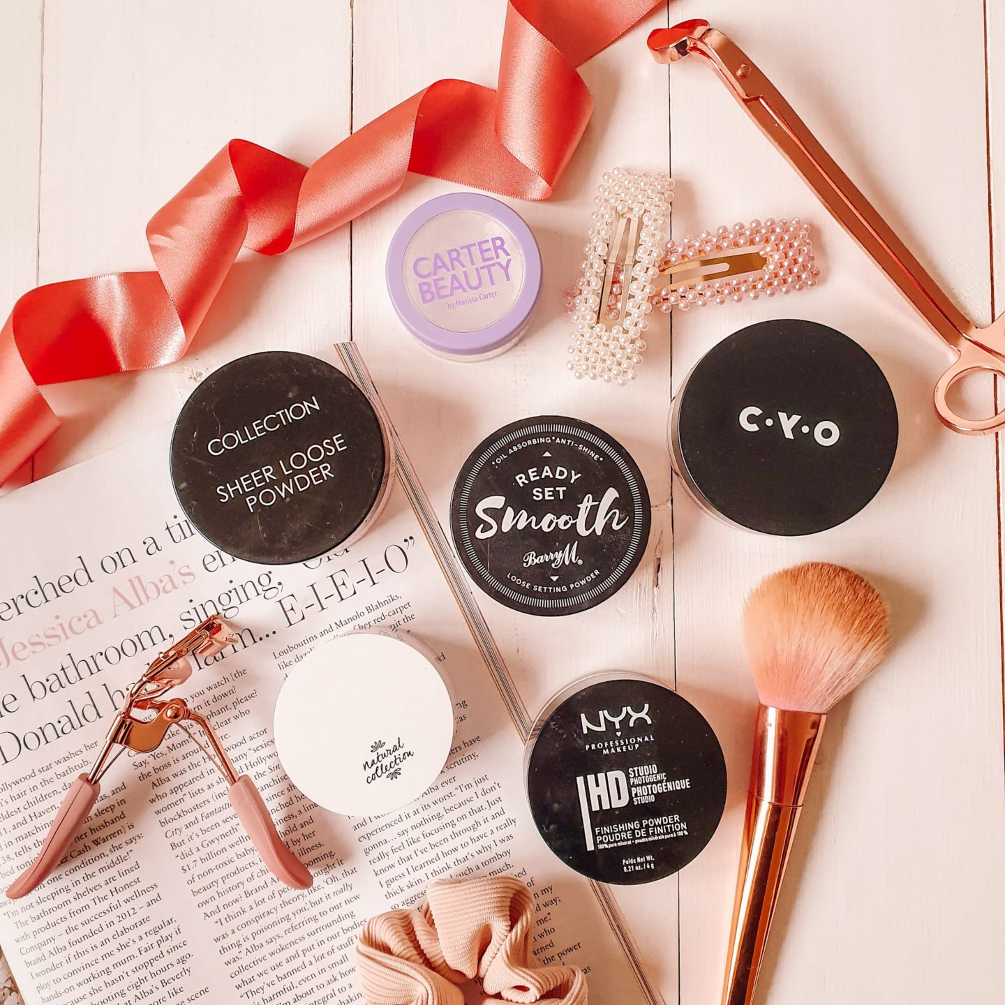 Battle of the drugstore loose powders for oily skin
