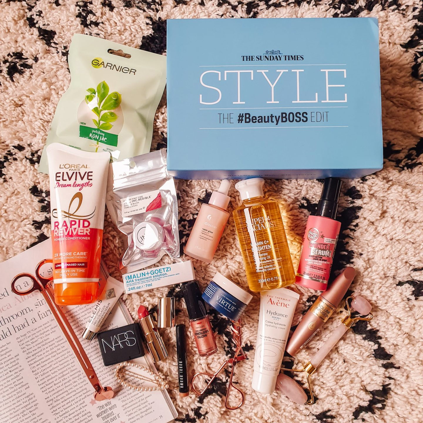Latest in Beauty The Sunday Times Style The #BeautyBOSS Edit