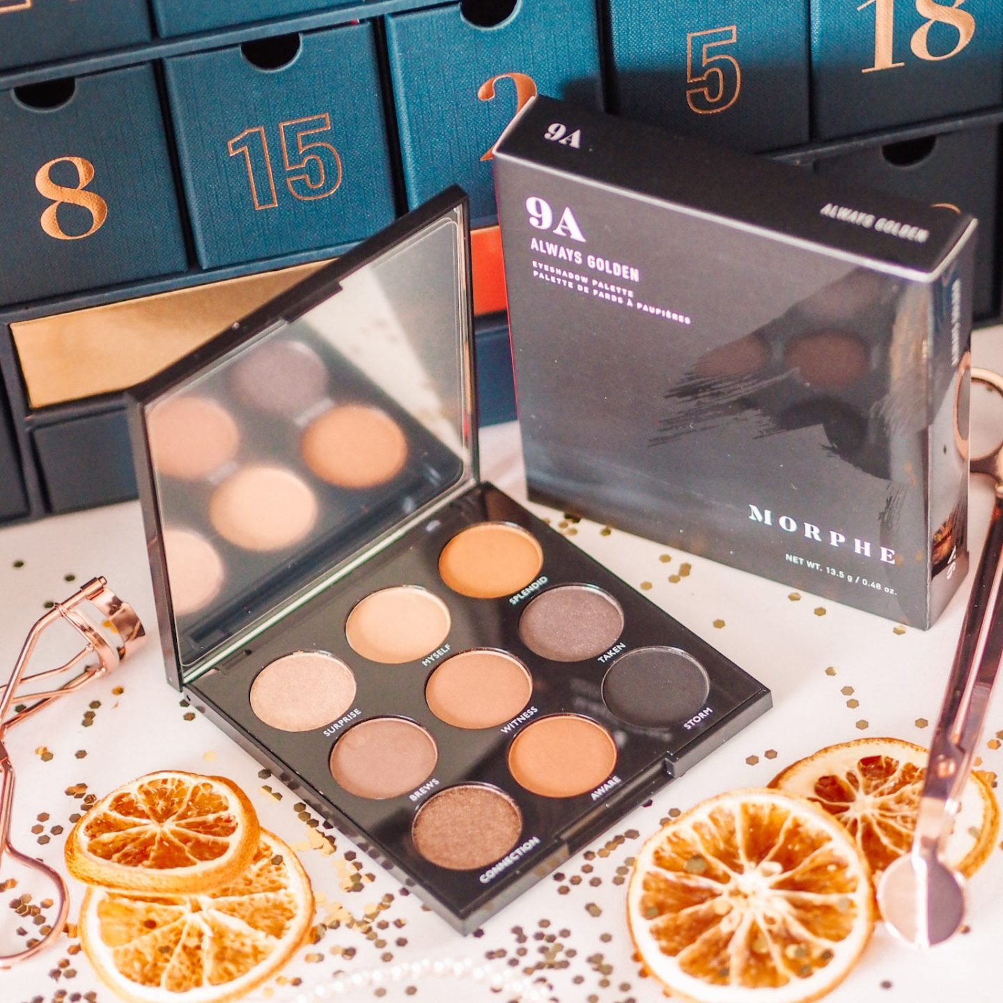 Morphe 9A Always Golden Palette