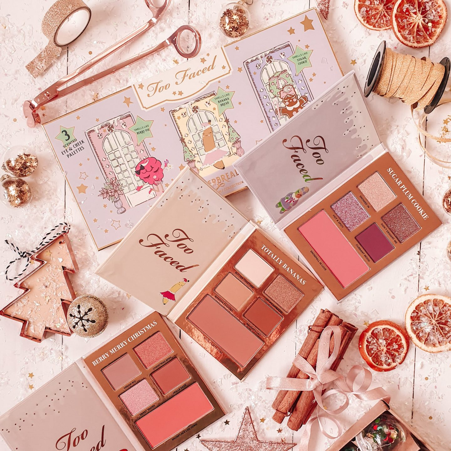 Too Faced Gingerbread Lane Set