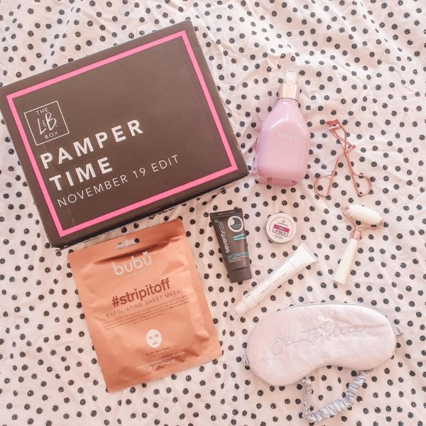 Latest in Beauty November Pamper Time box