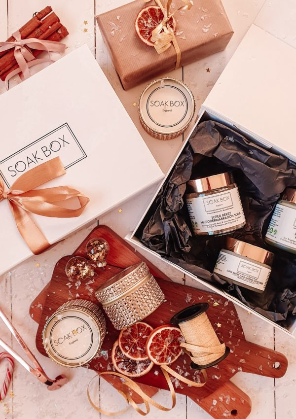 Natural vegan gifts at SOAK BOX England