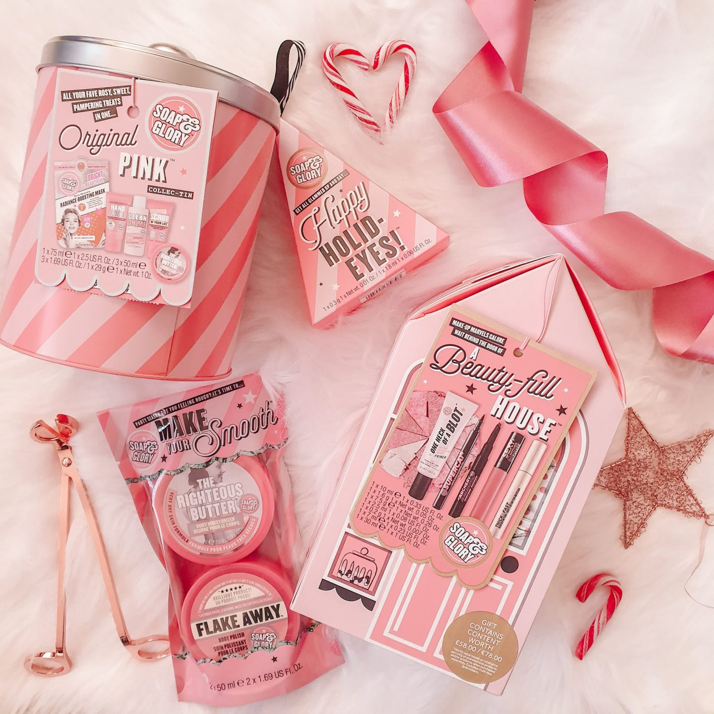 Soap & Glory Christmas Gift Set Guide
