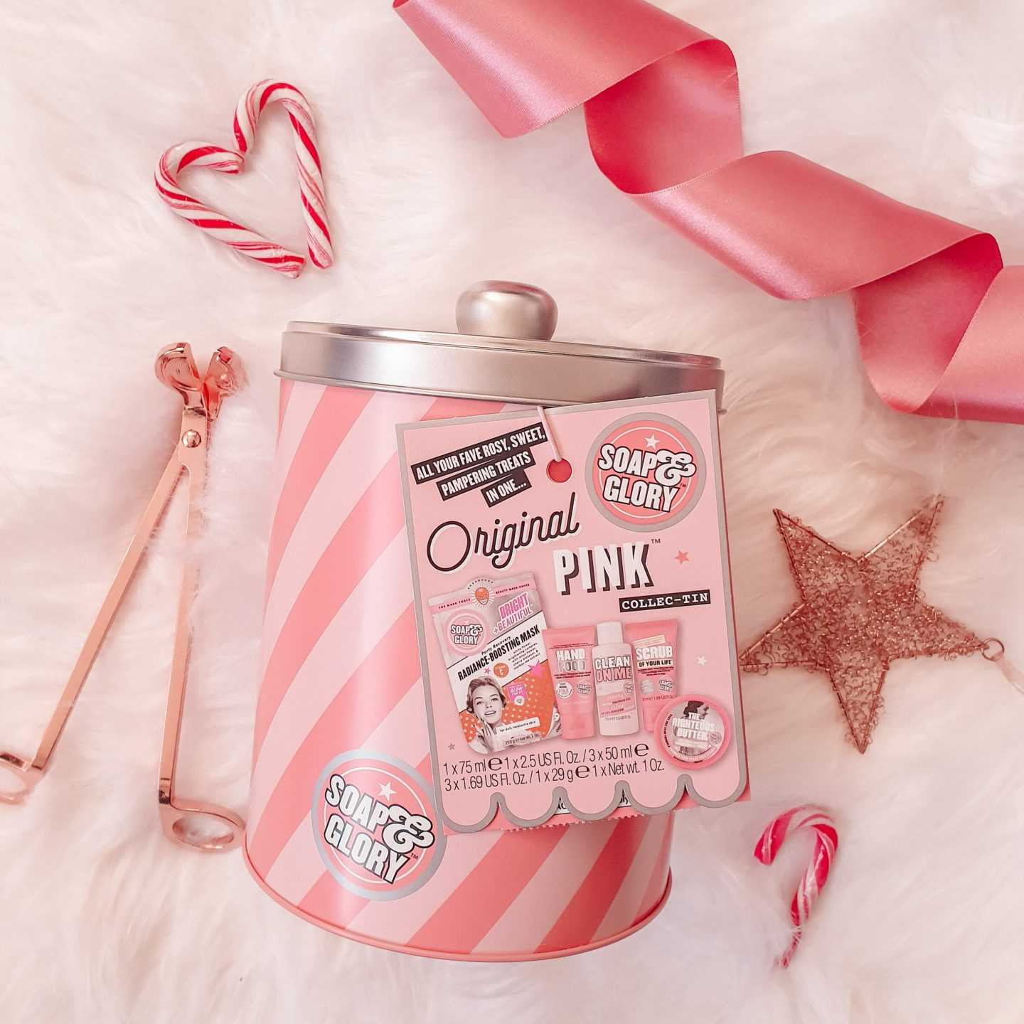 Soap & Glory Original Pink  Collection Tin
