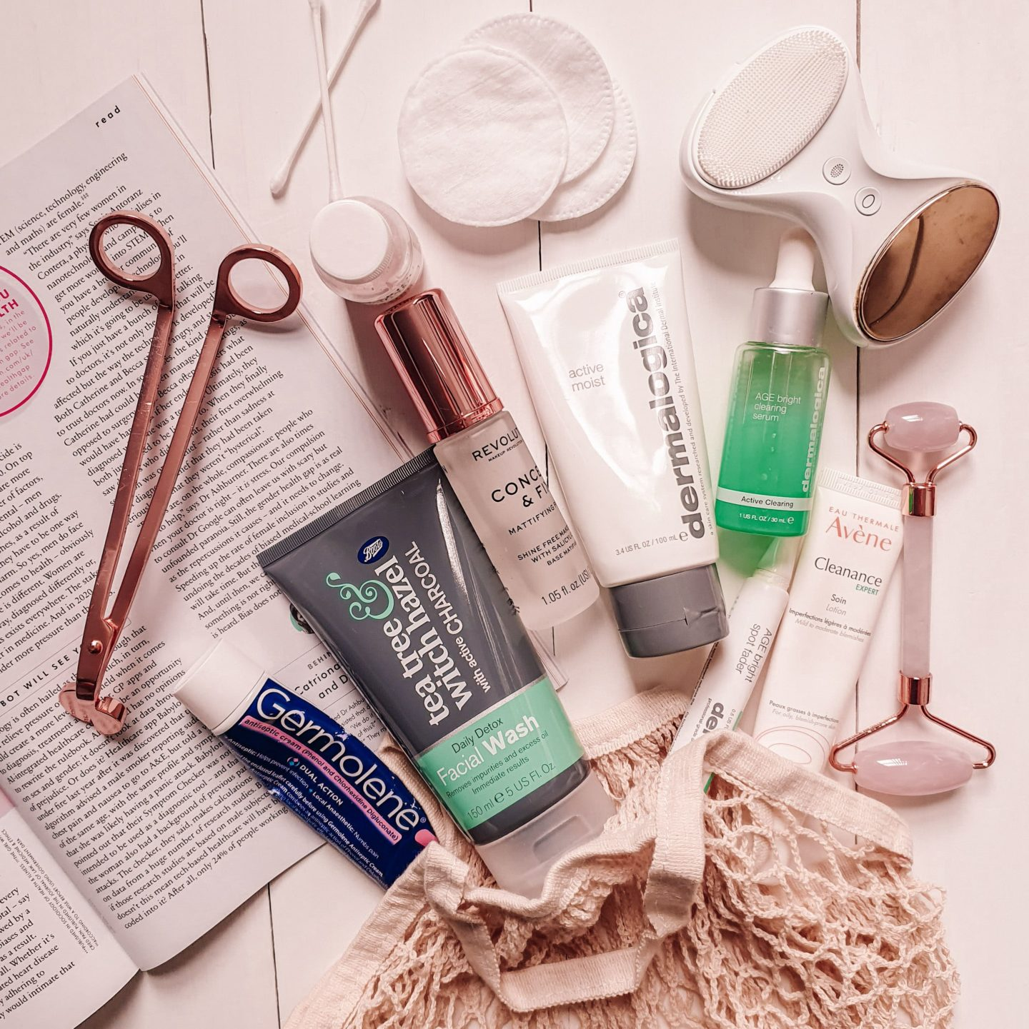 Skincare routine for oily and blemish prone skin