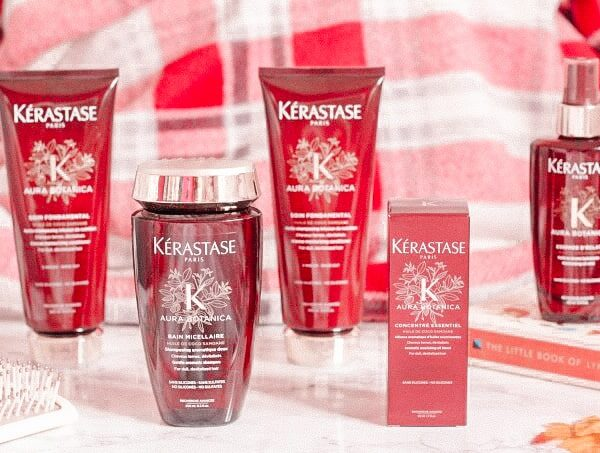 Silicone and sulphate free hair care – Kerastase Aura Botanica Range Review