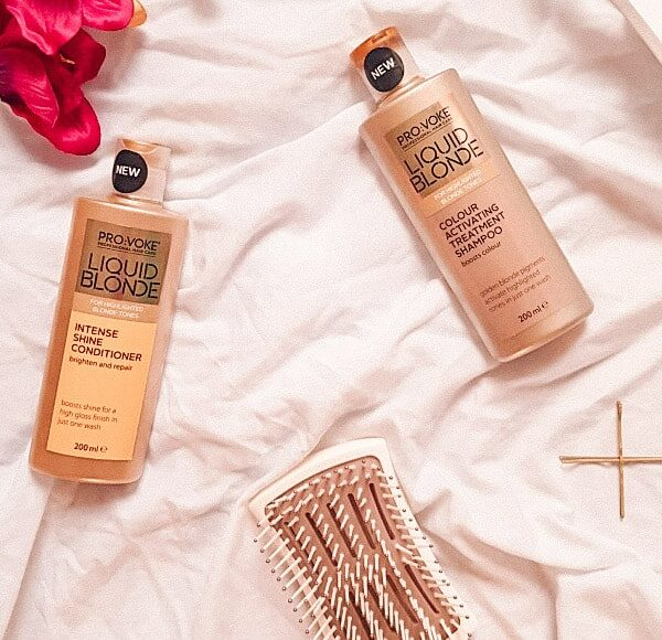 The shampoo for golden blondes – Provoke Liquid Blonde Shampoo and Conditioner Review