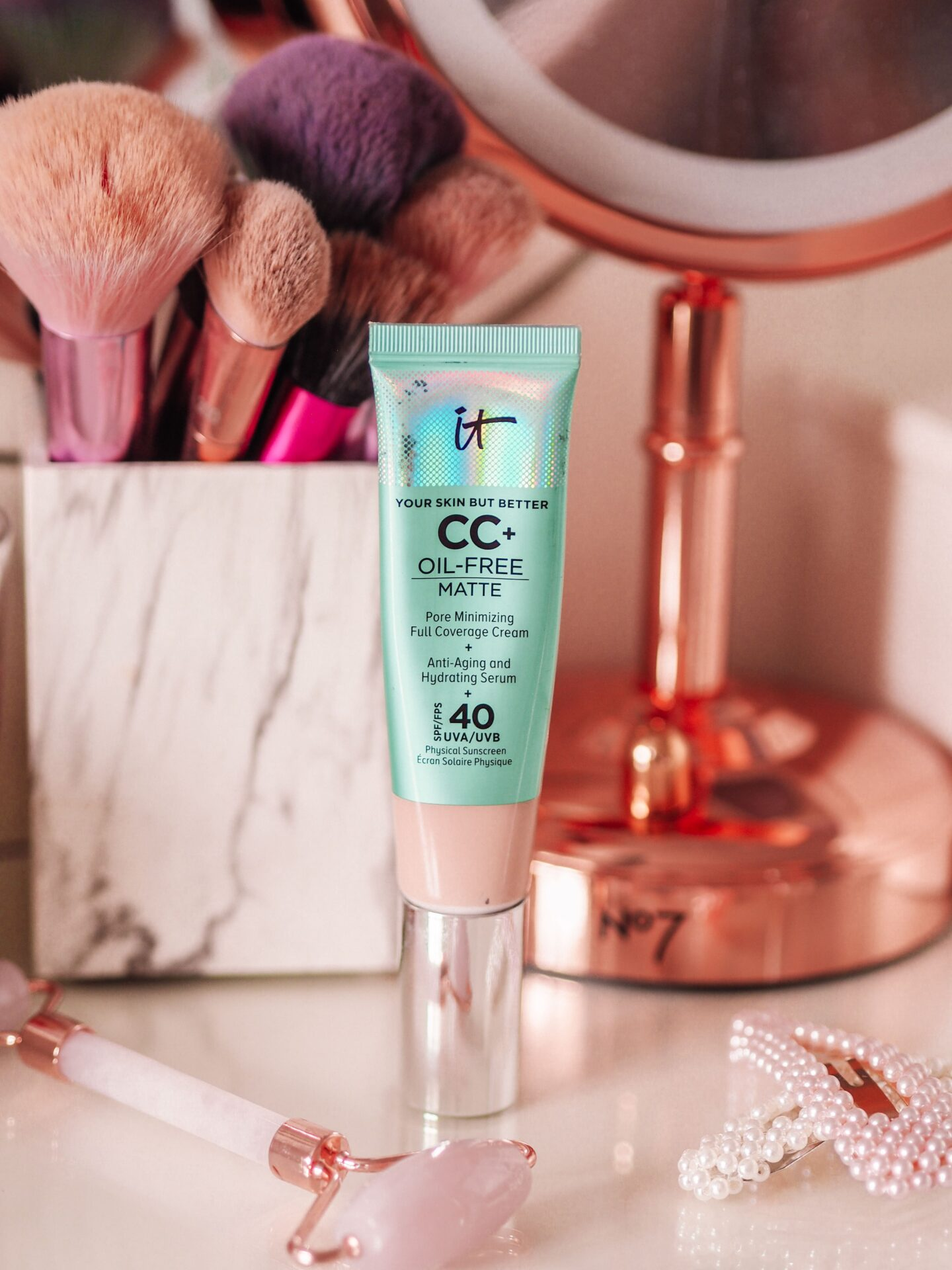 IT Cosmetics Your Skin But Better CC+ Cream Oil free matte Review