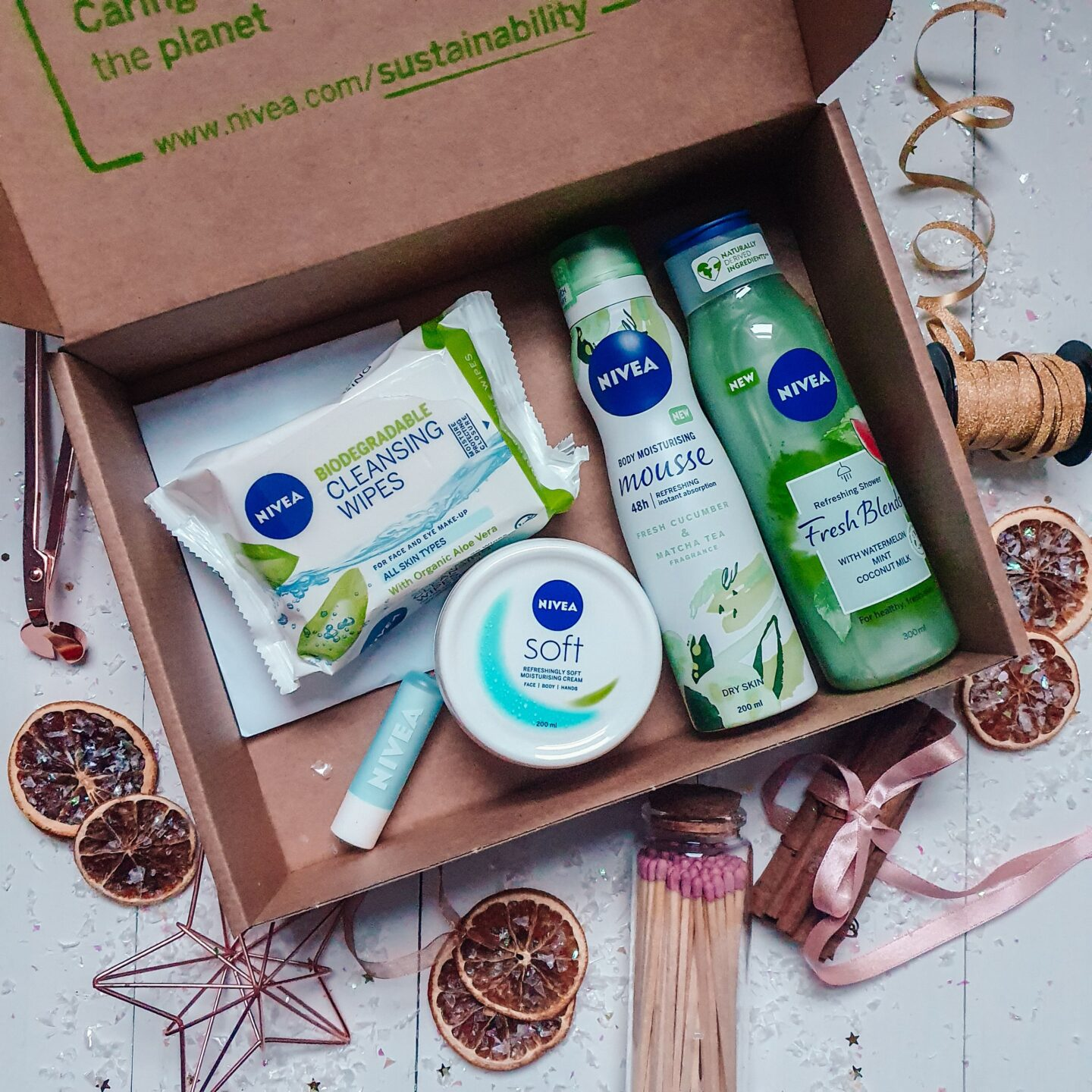 Nivea Natural Collection