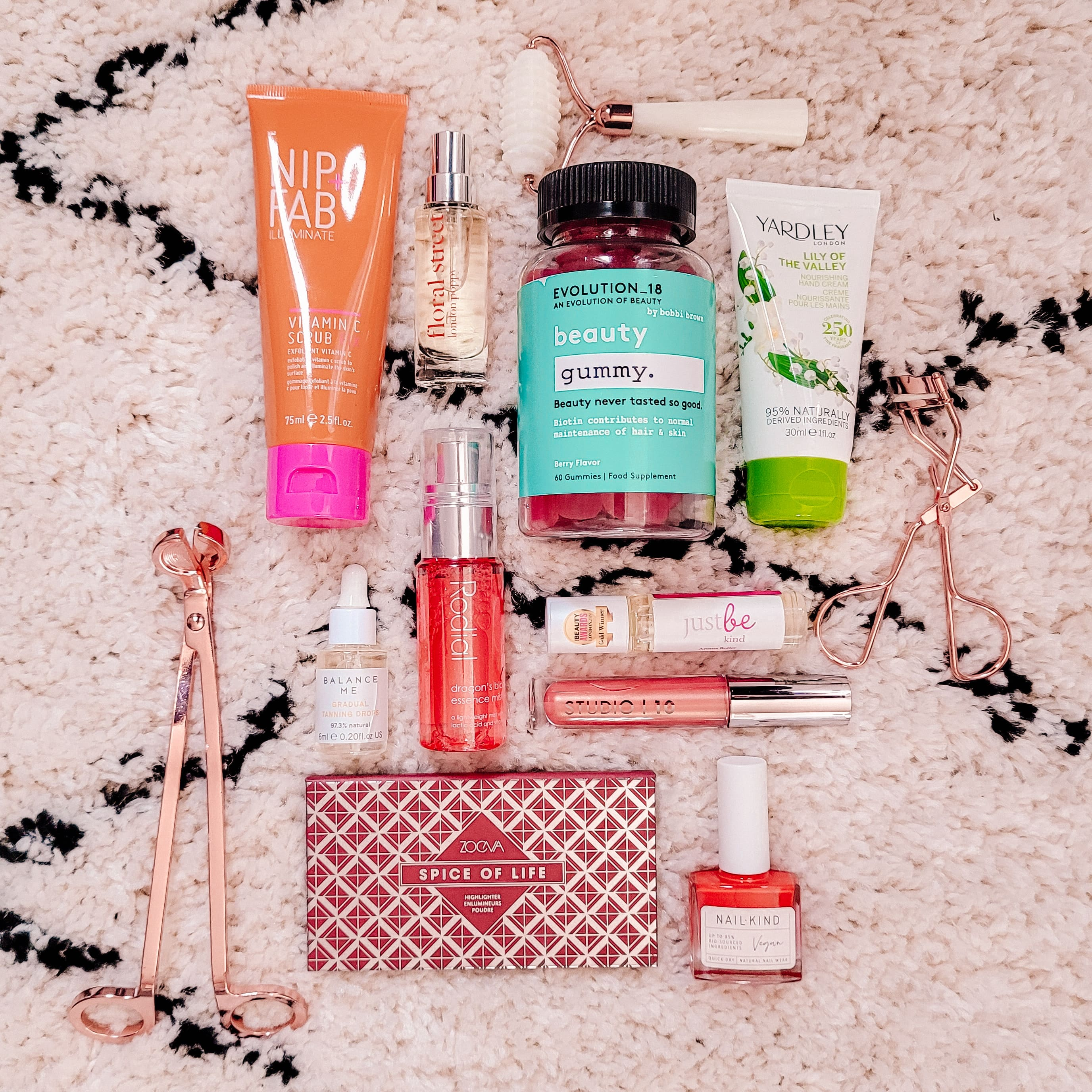 Latest in Beauty Empowered Beauty Edit Box